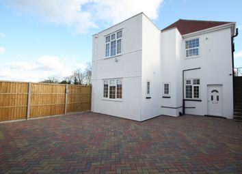 Thumbnail 3 bed flat to rent in Village Road, Thorpe, Surrey
