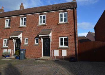 Thumbnail 2 bed end terrace house for sale in Wyvern Road, Bowerhill, Melksham