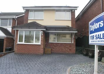 Thumbnail 4 bed detached house for sale in Hillview Close, Halesowen