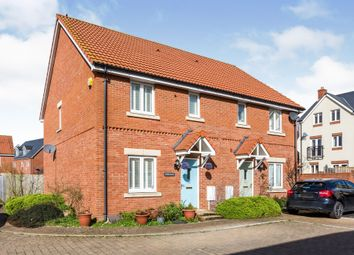 Thumbnail 3 bed semi-detached house for sale in Roger Way, Old Sarum, Salisbury