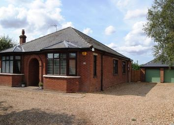 Thumbnail 4 bed bungalow for sale in Marshland St. James, Wisbech