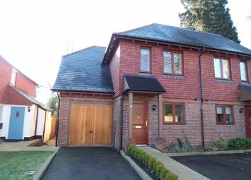 Thumbnail 3 bedroom semi-detached house to rent in Clenches Farm Road, Sevenoaks