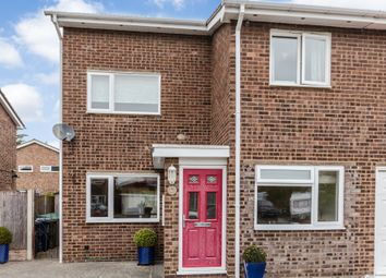 Thumbnail 4 bedroom semi-detached house for sale in Burns Court, Eaton Ford, St. Neots