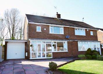 Thumbnail 3 bedroom semi-detached house for sale in Valley Road, Weston Coyney, Stoke-On-Trent