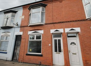 Thumbnail 2 bed terraced house to rent in Woodville Road, Western Park, Leicester