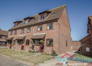 Thumbnail 2 bed maisonette for sale in Weavers Close, Stalham, Norwich