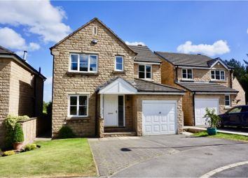 Thumbnail 4 bedroom detached house for sale in Woodlea Avenue, Lindley, Huddersfield