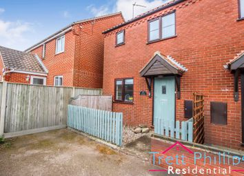Thumbnail 3 bed semi-detached house for sale in Waxham Road, Sea Palling, Norwich