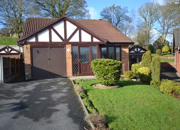 Thumbnail 3 bed detached bungalow for sale in Redheath Close, Newcastle-Under-Lyme