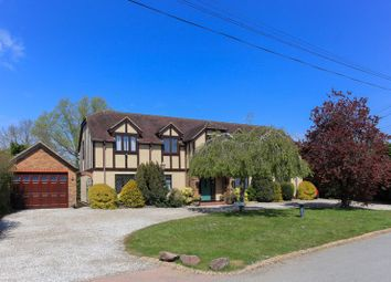 Thumbnail 7 bed detached house for sale in Glebe Road, Ramsden Bellhouse, Billericay