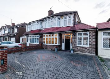 Thumbnail 3 bed semi-detached house for sale in Henley Avenue, North Cheam, Sutton