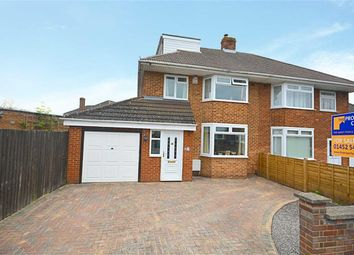 Thumbnail 4 bed semi-detached house for sale in Richmond Gardens, Longlevens, Gloucester