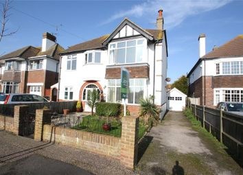 Thumbnail 2 bed flat for sale in Pevensey Road, West Worthing, West Sussex