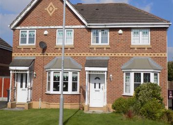 Thumbnail 3 bedroom semi-detached house to rent in Redwald Close, Kirkby, Liverpool