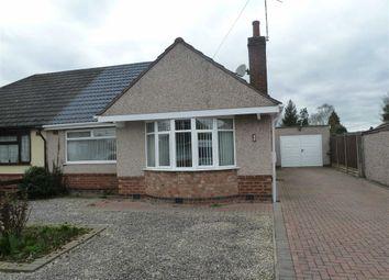 Thumbnail 2 bed semi-detached bungalow for sale in Glendon Gardens, Bulkington, Bedworth