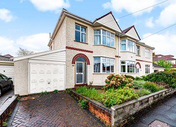 Thumbnail 3 bed semi-detached house for sale in Lyndhurst Road, Westbury-On-Trym, Bristol