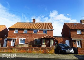 Thumbnail 3 bed semi-detached house for sale in Postern Crescent, Morpeth, Northumberland