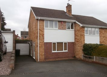 Thumbnail 3 bed semi-detached house for sale in Ashdene Gardens, Wordsley, Stourbridge