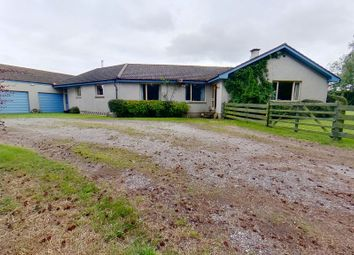Thumbnail 8 bed detached bungalow for sale in Wester Lochloy Farm, Nairn