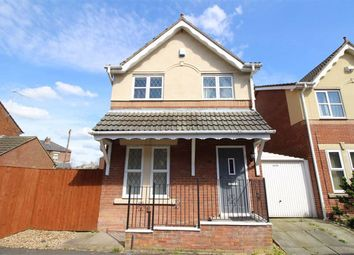 Thumbnail 3 bed detached house for sale in Gaskell Road, Penwortham, Preston