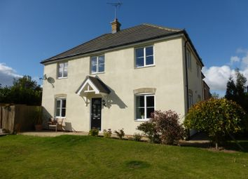 Thumbnail 4 bed detached house for sale in George Alcock Way, Farcet, Peterborough