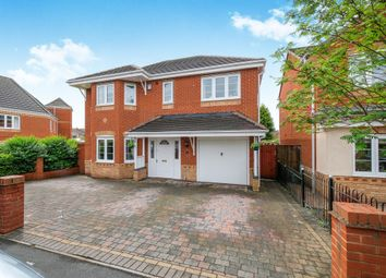 Thumbnail 4 bedroom detached house for sale in Smallshire Close, Wednesfield, Wolverhampton