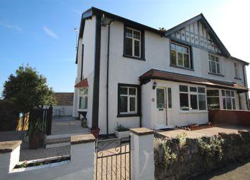 Thumbnail 4 bedroom semi-detached house for sale in Seafield Road, Colwyn Bay