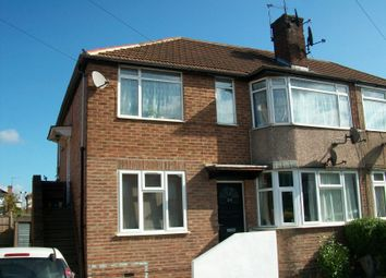 Thumbnail 2 bed maisonette to rent in Laburnum Road, Hayes
