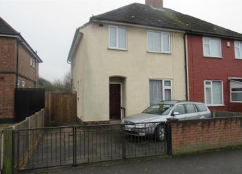 Thumbnail 3 bed semi-detached house for sale in Ellesmere Road, Leicester
