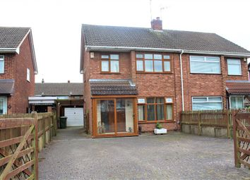 Thumbnail 4 bed semi-detached house for sale in Burbury Close, Bedworth, Warwickshire
