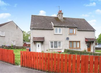 Thumbnail 3 bedroom semi-detached house for sale in Burnbank, Fochabers
