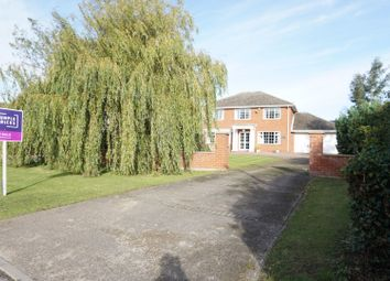 Thumbnail 4 bed detached house for sale in North End Crescent, Tetney