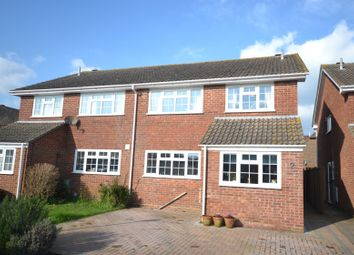 Thumbnail 4 bedroom semi-detached house for sale in Rumbolds Close, Chichester
