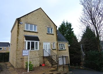 Thumbnail 3 bed detached house for sale in Banks Road, Linthwaite, Huddersfield