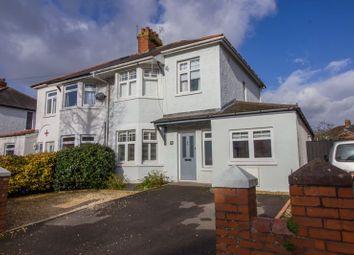 3 bed semi-detached house for sale in Coleridge Avenue, Penarth CF64