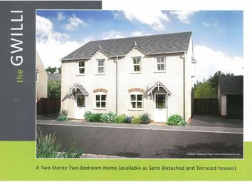 Thumbnail 2 bed terraced house for sale in Tir Y Dderwen, Cross Hands, Llanelli