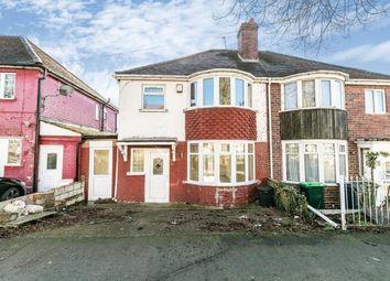 3 bed semi-detached house for sale in Hugh Road, Smethwick, West Midlands, Birmingham B67