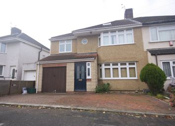 Thumbnail 4 bed semi-detached house to rent in Begbrook Lane, Stapleton, Bristol
