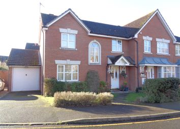 Thumbnail 3 bed semi-detached house to rent in Friarscroft Way, Aylesbury