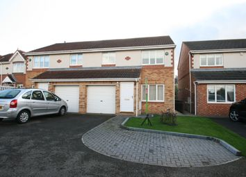Thumbnail 3 bed semi-detached house to rent in Dainton Close, Houghton-Le-Spring, County Durham