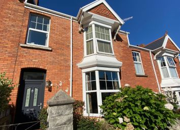 Thumbnail 3 bed terraced house for sale in Oakland Road, Mumbles, Swansea