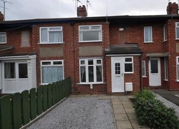 Thumbnail 3 bedroom terraced house to rent in Moorhouse Road, Hull