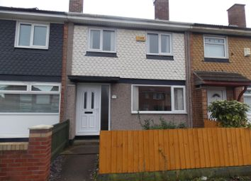 Thumbnail 3 bed terraced house to rent in Burwell Road, Middlesbrough