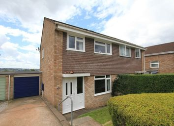 Thumbnail 3 bed semi-detached house for sale in Longfield Avenue, Kingsteignton, Newton Abbot