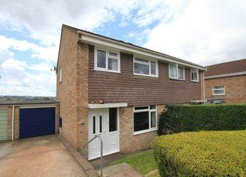 Thumbnail 3 bedroom semi-detached house for sale in Longfield Avenue, Kingsteignton, Newton Abbot