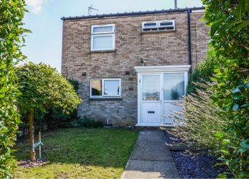 Thumbnail 3 bed end terrace house for sale in Branston Rise, Peterborough