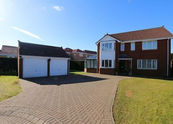 Thumbnail 5 bed detached house for sale in Meadow Grange, Berwick-Upon-Tweed, Northumberland