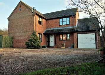 Thumbnail 4 bed detached house for sale in Sleights Drive, Wisbech
