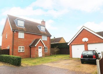 Thumbnail 5 bed detached house for sale in The Howards, North Wootton, King's Lynn, Norfolk