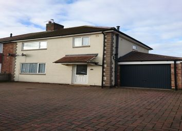 Thumbnail 3 bed semi-detached house to rent in Norfolk Road, Stapenhill, Burton-On-Trent